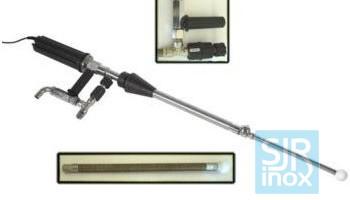 Держатели форсунок и головки с вращающимися форсунками: М25Е — Очиститель емкости с электр. приводом + откачка жидкости CE
