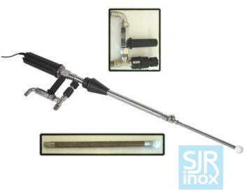Держатели форсунок и головки с вращающимися форсунками: М25Е - Очиститель емкости с электр. приводом + откачка жидкости CE