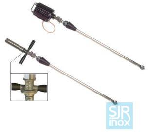 Держатели форсунок и головки с вращающимися форсунками: М63Е - М63 Р - Очиститель емкости с автоном. приводом - Ø45 мм
