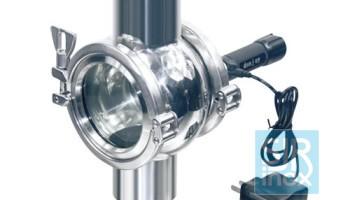 Аккумуляторный эндоскоп (светильник)  для четырехстороннего смотрового стекла для трубопроводов