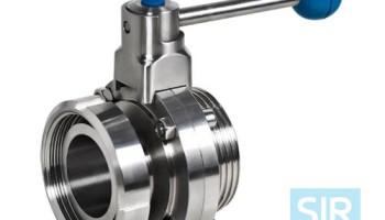 Дисковой поворотный клапан с ручным управлением