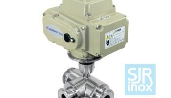 Регулирующий клапан с электрическим приводом