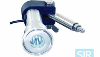 Эндоскоп (светильник) для смотрового стекла трубопроводов