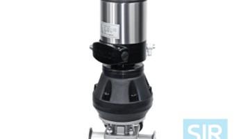 Мембранный клапан с пневматическим управлением