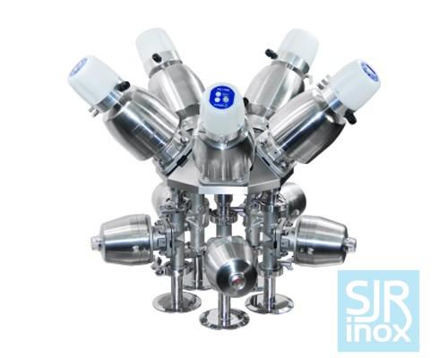 Многоканальные мембранные клапаны