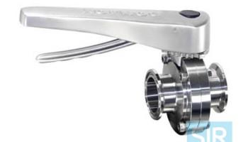 Многопозиционный дисковой поворотный клапан с ручкой