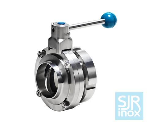 Однотопочный дисковой поворотный клапан односторонней сварки