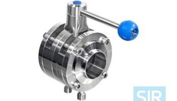 Противосмесительный дисковой поворотный клапан типа A