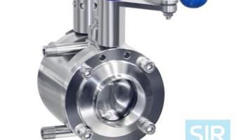 Противосмесительный дисковой поворотный клапан типа B