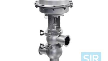 Седельный мембранный клапан