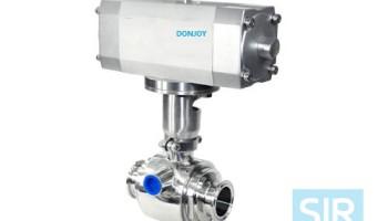 Шаровой клапан с теплоизоляцией корпуса