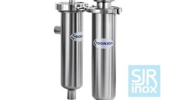 Угловой фильтр для насосов и другого оборудования трубопроводов