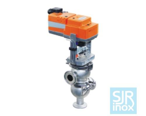 Запорно-регулирующий клапан с электрическим приводом