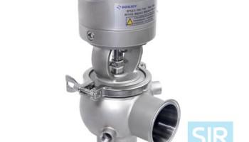 Запорно-регулирующий клапан с теплоизоляцией